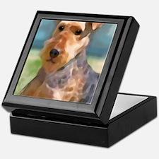 Cool Big sister dog Keepsake Box