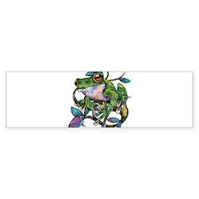 Wild Frog Bumper Sticker