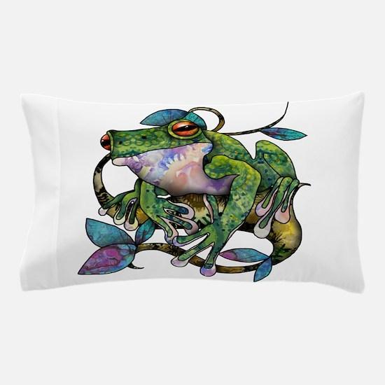 Wild Frog Pillow Case