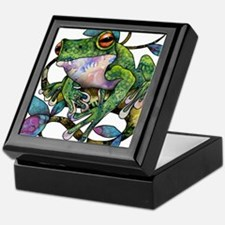 Wild Frog Keepsake Box