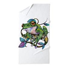 Wild Frog Beach Towel