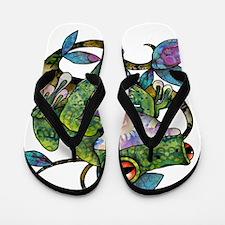 Wild Frog Flip Flops