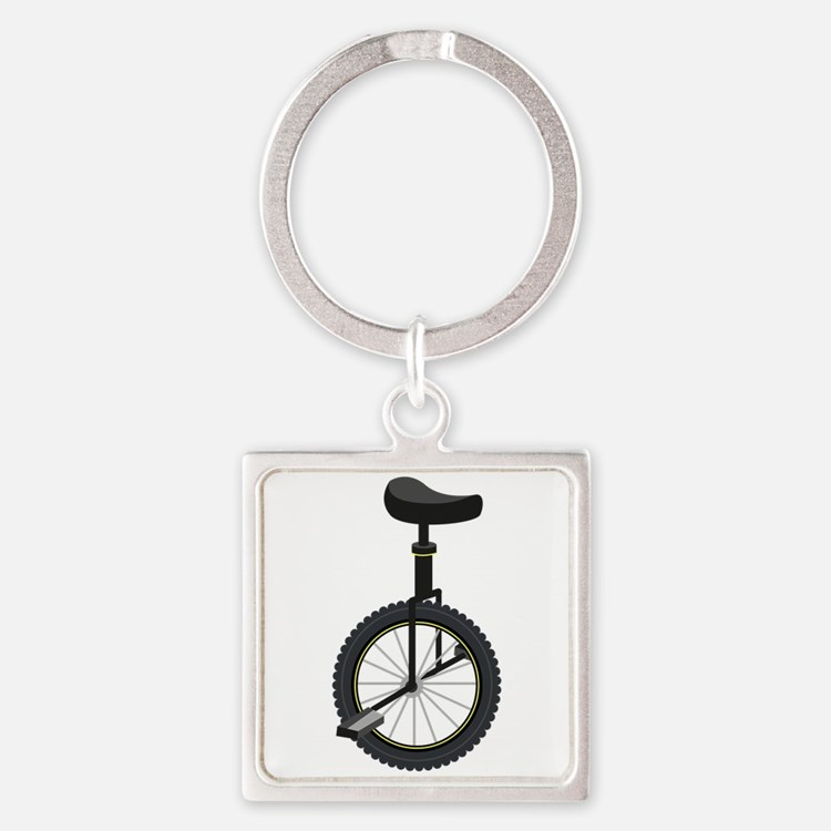 Unicycle Keychains