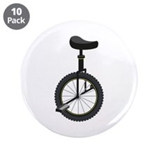 "Unicycle 3.5"" Button (10 pack)"