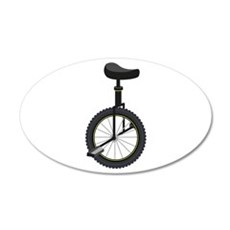 Unicycle Wall Decal