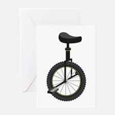 Unicycle Greeting Cards