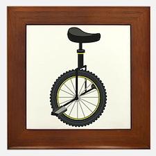 Unicycle Framed Tile