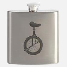 Unicycle Flask