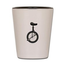 Unicycle Shot Glass