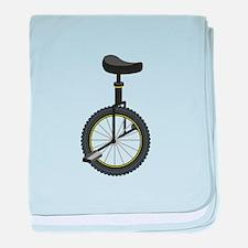 Unicycle baby blanket