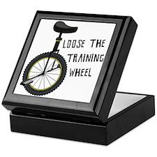 Loose The Training Wheel Keepsake Box
