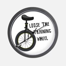Loose The Training Wheel Wall Clock
