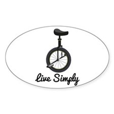 Live Simply Decal
