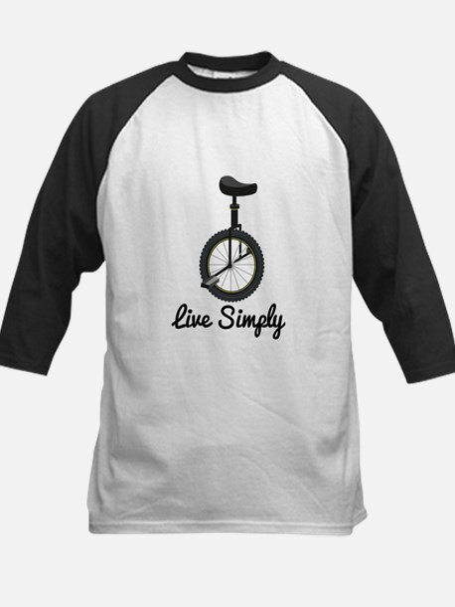 Live Simply Baseball Jersey