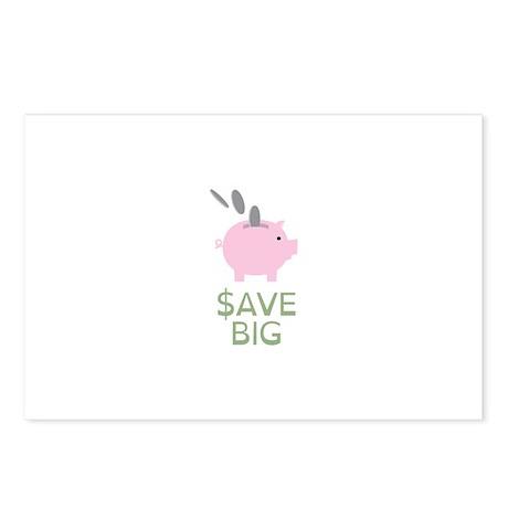 Save Big Postcards (Package of 8)