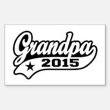 Grandpa 2015 Decal