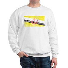 Vintage Brunei Flag Sweatshirt