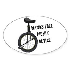 Hands Free Mobile Device Decal