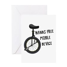 Hands Free Mobile Device Greeting Cards