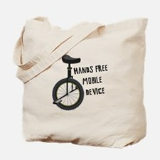 Hands Free Mobile Device Tote Bag
