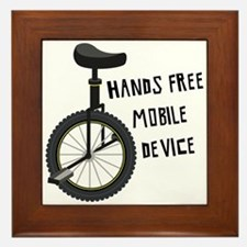 Hands Free Mobile Device Framed Tile