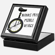 Hands Free Mobile Device Keepsake Box