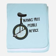 Hands Free Mobile Device baby blanket