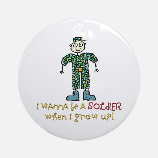 Future Soldier Ornament (Round)