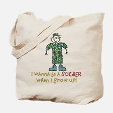 Future Soldier Tote Bag