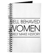 Well behaved women 2 Journal