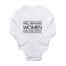 Well behaved women 2 Body Suit