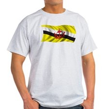 Wavy Brunei Flag T-Shirt