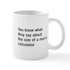 Size matters calculator Mugs
