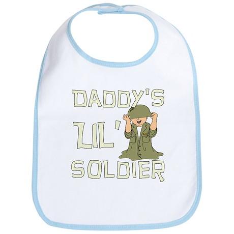 Daddy's Lil' Soldier Bib