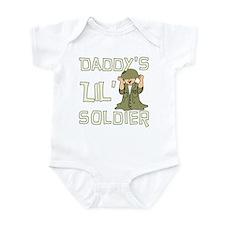 Daddy's Lil' Soldier Infant Bodysuit