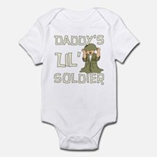 Daddy's Lil' Soldier Infant Bodysuit
