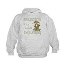 Daddy's Lil' Soldier Hoodie