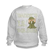 Daddy's Lil' Soldier Sweatshirt