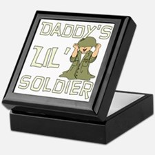 Daddy's Lil' Soldier Keepsake Box