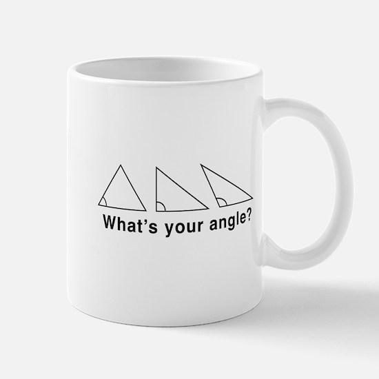 What's your angle? Mugs