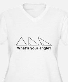 What's your angle? Plus Size T-Shirt