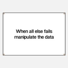 Manipulate the data Banner