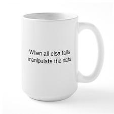 Manipulate the data Mugs