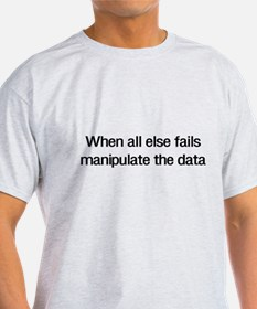 Manipulate the data T-Shirt
