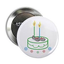 "Runners Birthday 2.25"" Button"