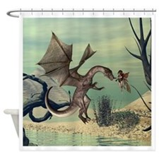 The dragon Shower Curtain