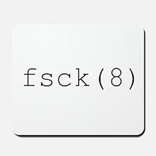 fsck(8) Mousepad