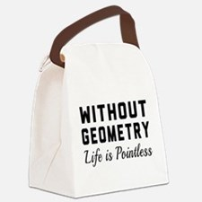 Without geometry pointless Canvas Lunch Bag