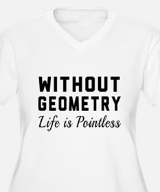 Without geometry pointless Plus Size T-Shirt