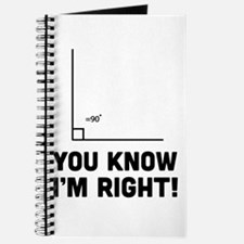 You know i'm right Journal
